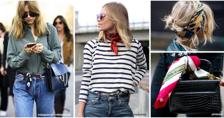 5 Astuces porter le foulard cet été