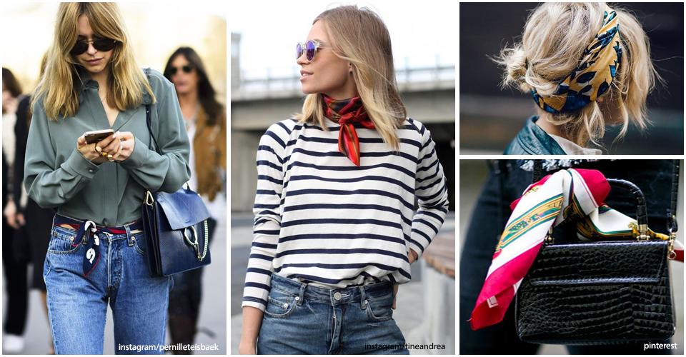foulards styles