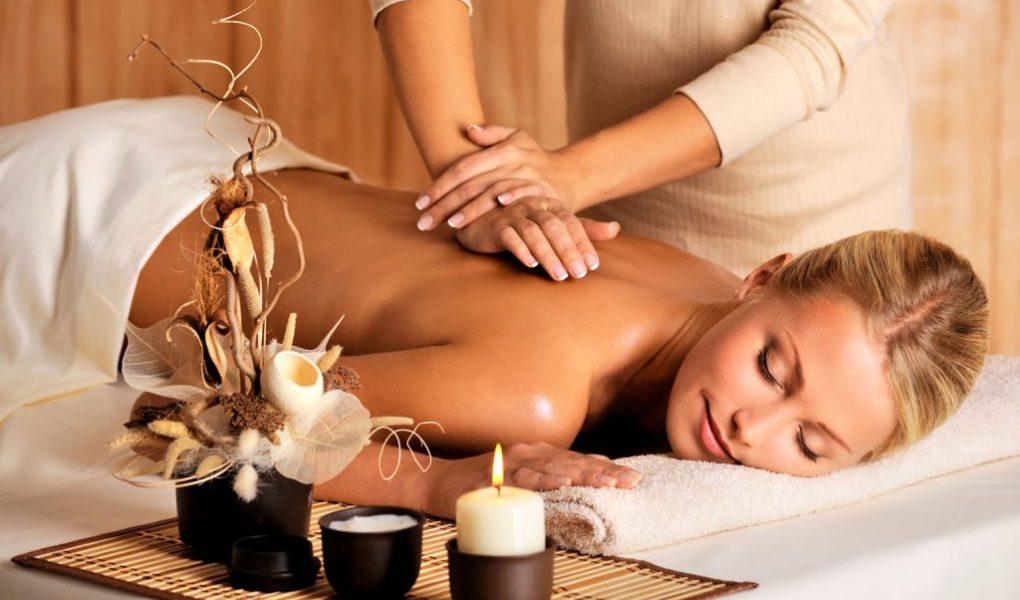 séance de massage oriental